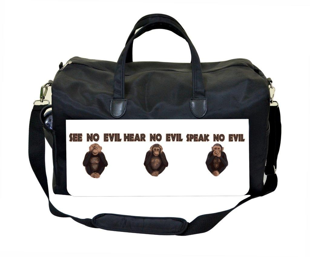 See No Evil Hear No Evil Speak No Evil Therapist Bag