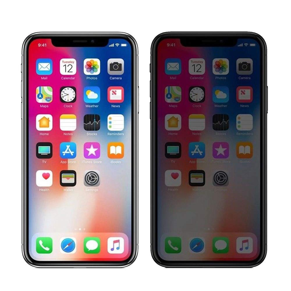 Huhu833 F/ür iPhone XS//XS Max//XR Displayschutzfolie 2 St/ücke of Privatsph/äre Anti-Spy HD Film Geh/ärtetem Glas Apple Displayschutzfolie