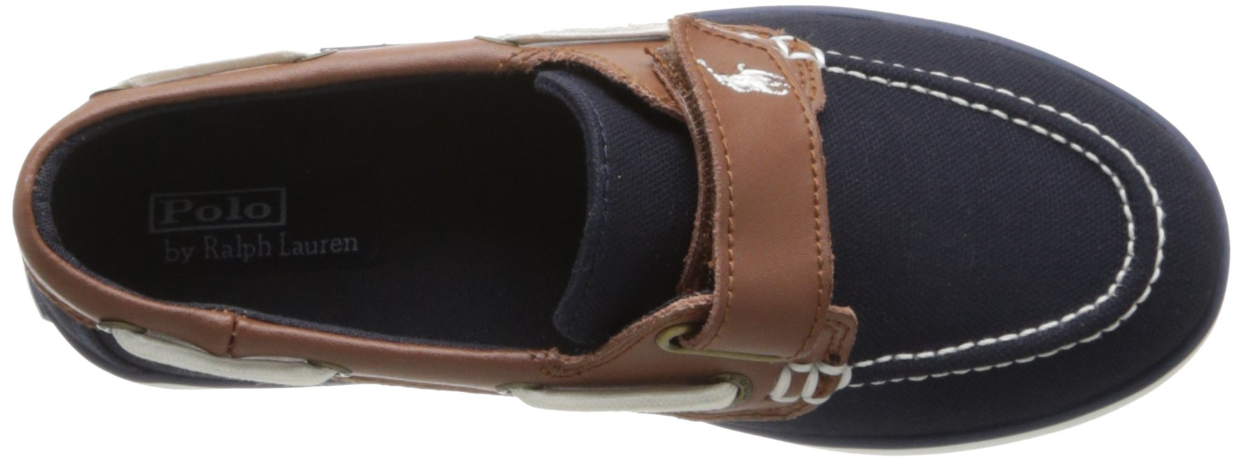 Polo Ralph Lauren Kids Sander-CL EZ Sneaker ,Navy,10.5 M US Little Kid by Polo Ralph Lauren (Image #7)