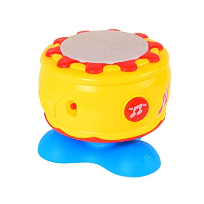 BAOLI Great Baby Gift Baby Musical Roll Hand Drum Toy: Toys & Games [5Bkhe0805566]