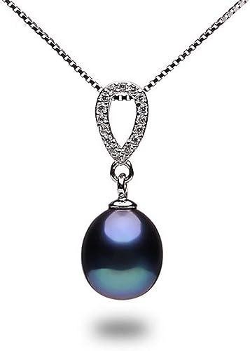 CS-DB Pendants Pearl Choker Silver Necklaces