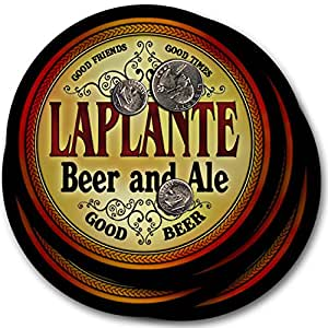 Laplante Beer & Ale - 4 pack Drink Coasters