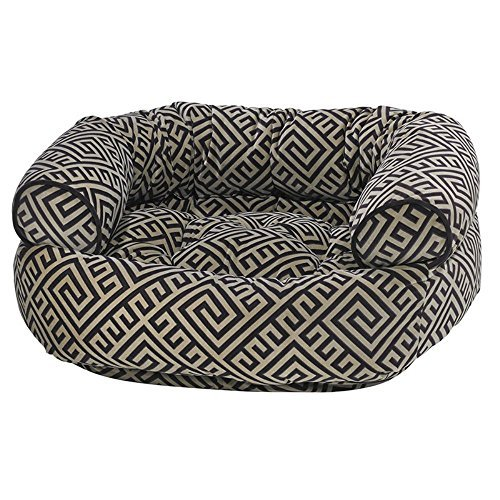 Microvelvet Double Donut Bed - Bowsers Diamond Series Microvelvet Double Donut Dog Bed by Bowsers