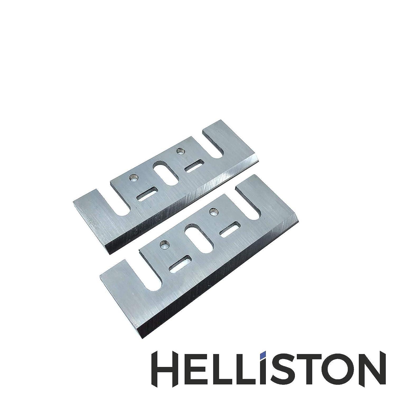 HM Hobelmesser 82mm fü r Bosch, Makita, Ryobi, 82 x 29 x 3 mm (2 Stü ck) Helliston