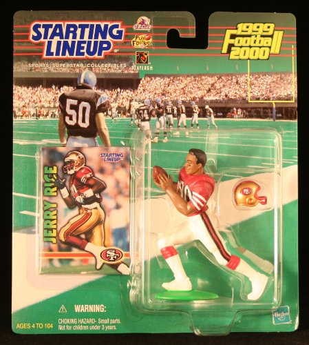JERRY RICE / SAN FRANCISCO 49ERS 1999-2000 NFL Starting Line