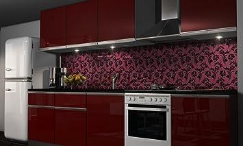Küchenrückwand, Rückwand, Aluverbundplatte Designküche, Spritzschutz ...