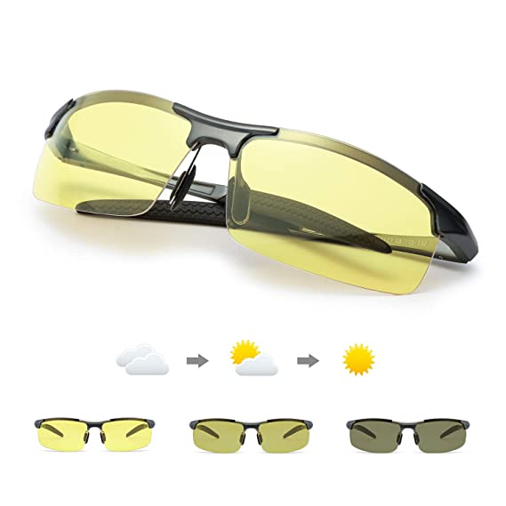 TJUTR Fotocromaticas Gafas de Visión para Conduccion ...