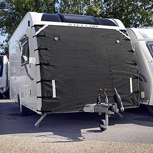 Caravan Universal Front-Cover dunkel grau Displayschutzfolie Covers Zubeh/ör