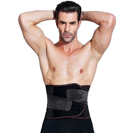 amazon com dzxzy premium waist trimmer belt upgraded weight loss