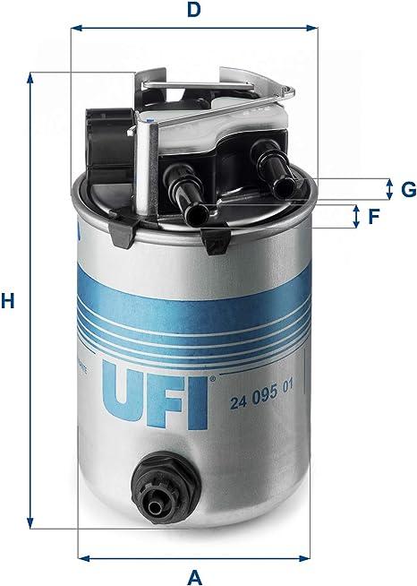 Ufi Filters 24 095 01 Dieselfilter Auto