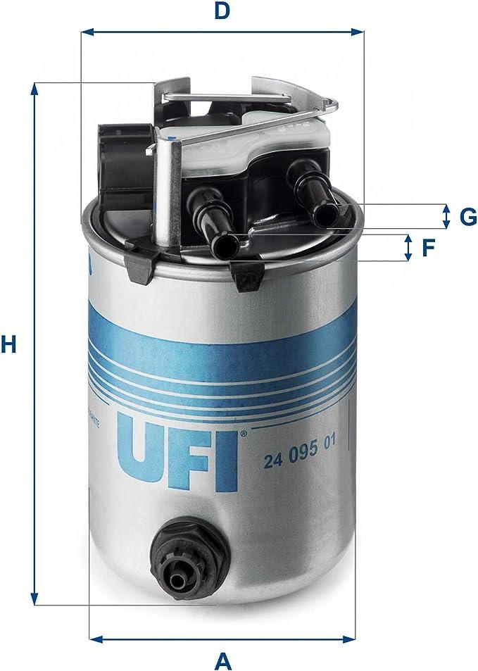 Ufi 24 095 01 Fuel Filter Fuel Line Filter Filter Fuel Filter Auto