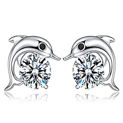 ecff275aea0b7 Amazon.com : GAOQQ Women Fashion Jewelry Elegant Rhinestone Crystal ...