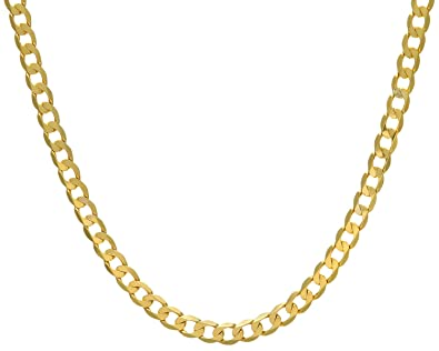 Citerna 9ct Yellow Gold Fine Anchor Chain Necklace sHBKD1UVic