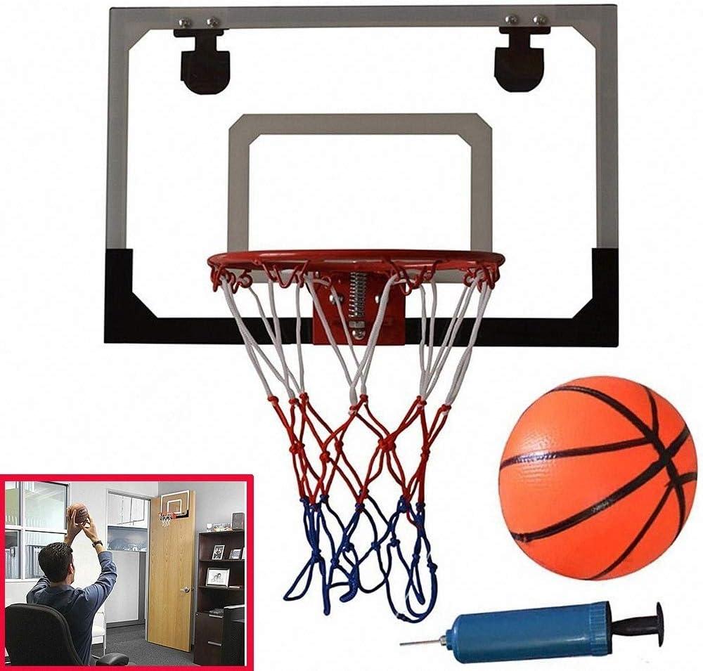 Haol Mini Juguete de aro de Baloncesto, Canasta de la Puerta de la ...
