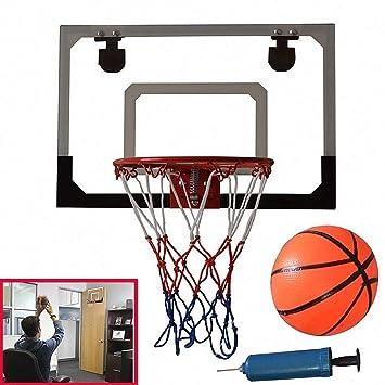 Haolv Juego de aro de Baloncesto con Bola y Bomba para niños de ...