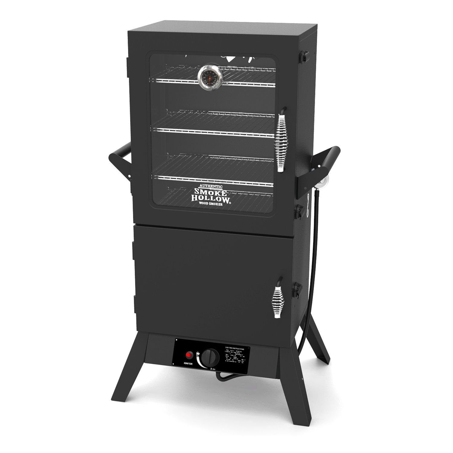 Smoke Hollow 38205GW  38-Inch  Propane Gas Smoker with Window by Smoke Hollow