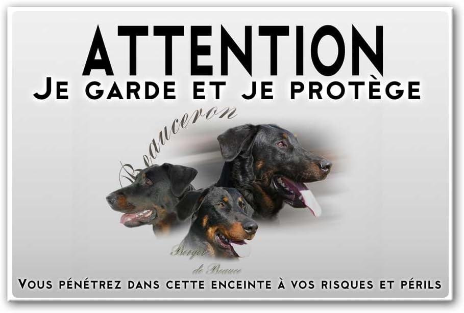 Pets-easy Panneau Attention au Chien Beauceron