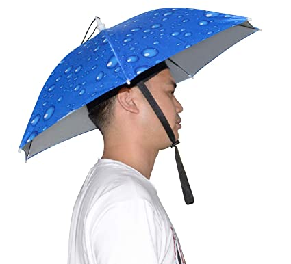 fe77a3d28 NEW-Vi Umbrella Hat Adult and Kids Folding Cap for Beach Fishing Golf Party  Headwear