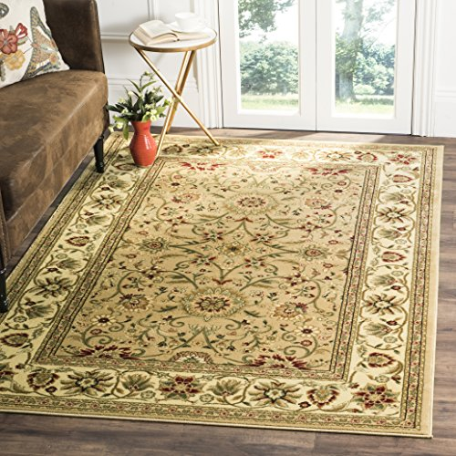 Safavieh Lyndhurst Collection LNH212D Traditional Oriental Beige and Ivory Square Area Rug (8' Square) by Safavieh