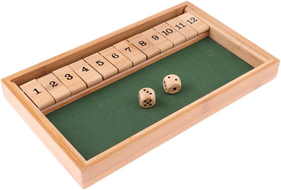 Madera Juegos de Mesa Niños Matemáticas Aprendiendo Números para Fiestas Bar: Amazon.es: Juguetes y juegos