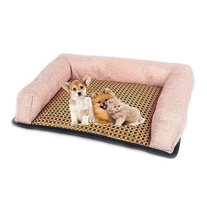 Amazon Com Dyytrm Summer Pet Dog Cooling Mat Dogs Cats Bed