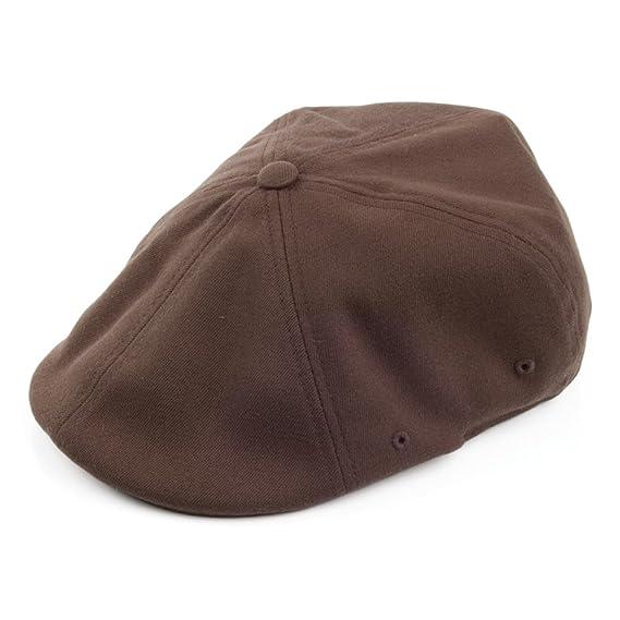 Kangol Flexfit 504 Newsboy Cap - Brown  Amazon.co.uk  Clothing e58cb112db20
