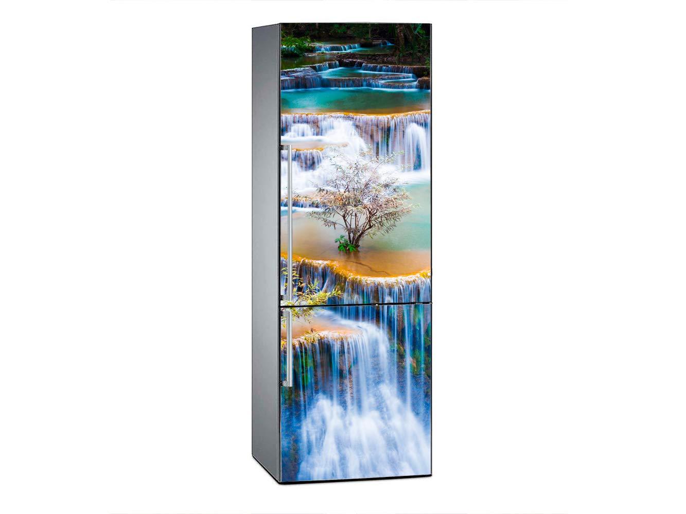 adh/ésif r/ésistant et /économique Vinyle pour r/éfrig/érateur Cascades de huay Mae KHA Min 200 x 60 cm Oedim adh/ésif d/écoratif au Design /él/égant
