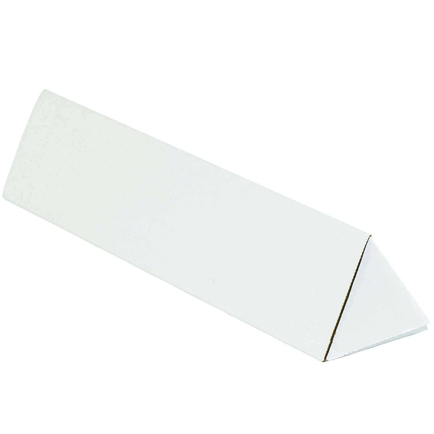 2 x 18-1//4 Pack of 50 Oyster White BOX USA BMTM218 Triangle Mailing Tubes