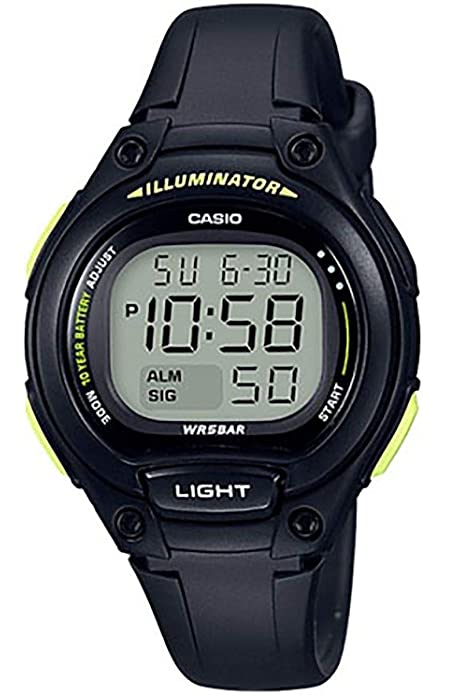 Reloj Casio sumergible para niños LW-203-1B: Amazon.es: Zapatos y complementos