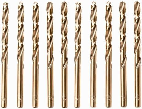 UK Drills 6.5mm HSS Ground Drill Bit Steel Wood High Speed Steel Jobber Twist