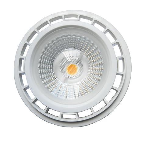 Akaiyal 12W AR111 GU10 Lámpara de LED 220V COB ES111 Bombillas de Reflector Blanco Fresco 6000K