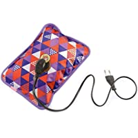 FEDUS Electrothermal Warm heating bag, Electric hot water bags electric Heating Gel Pad-Heat Pouch Hot Water Bottle Hand Warmer Pain Reliever for Joint, Muscle, Back Shoulder, Knee, Neck Multicolor