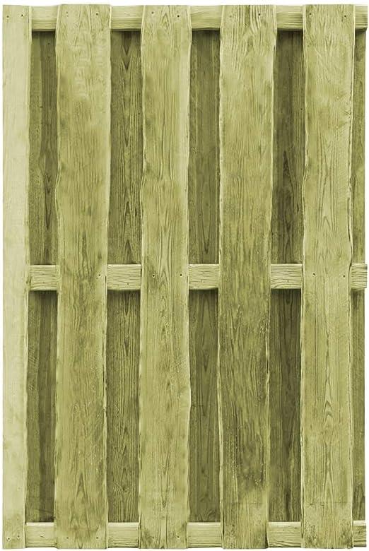 ghuanton Puerta de Valla Madera de Pino impregnada FSC 100x150 cm verdeBricolaje Vallas de jardín Puertas de jardín: Amazon.es: Hogar