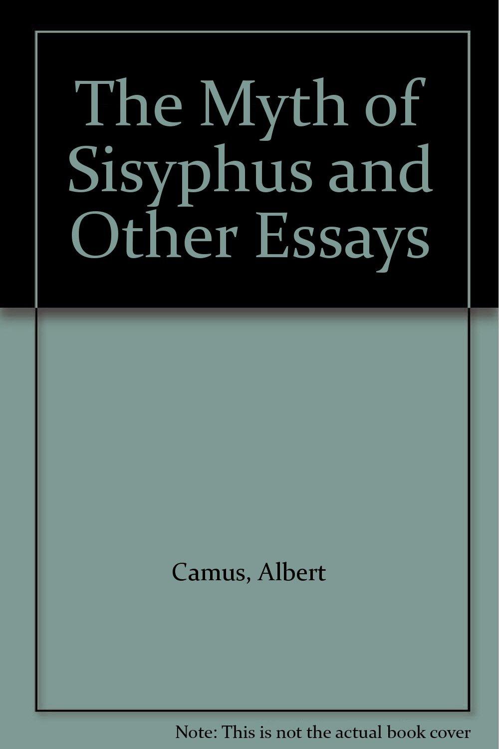 Reflective Essay Thesis  High School Persuasive Essay Topics also College Vs High School Essay Compare And Contrast The Myth Of Sisyphus And Other Essays Albert Camus Amazoncom Books Sample Essays High School
