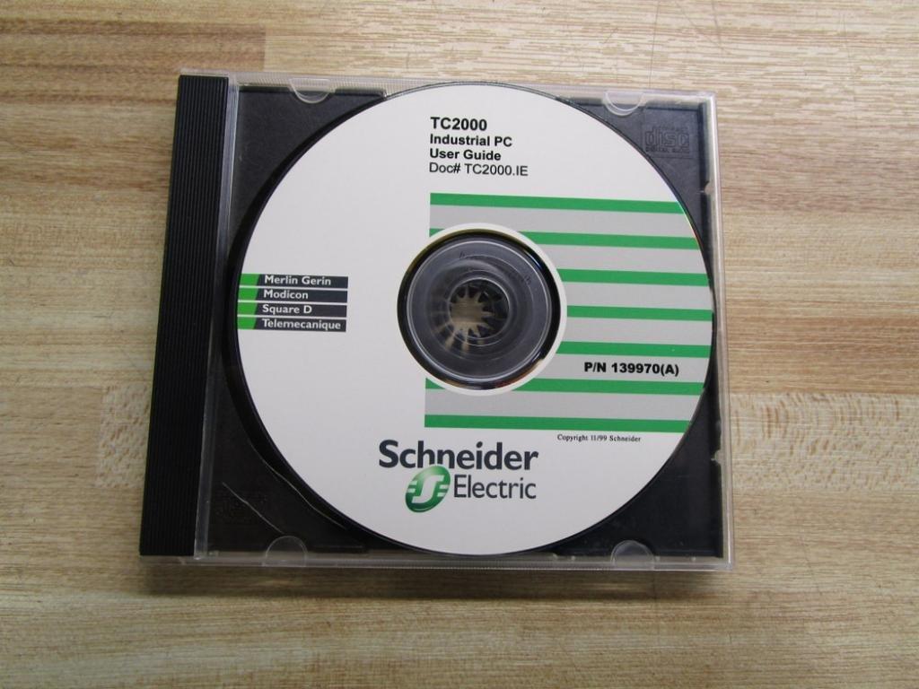 Amazon com: Schneider 139970 (A) Software CD For TC2000: Industrial