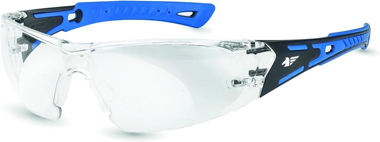 Pegaso 103.01 Gafas de Protección, Azul y Negro, L
