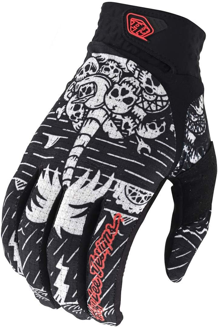Troy Lee Designs Air Boneyard Black Gloves size Large