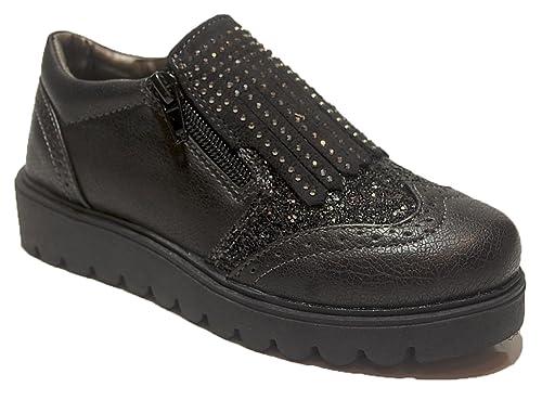 ASSO Niñas parte delantera cerrada negro Size: 31 udRtqGlH