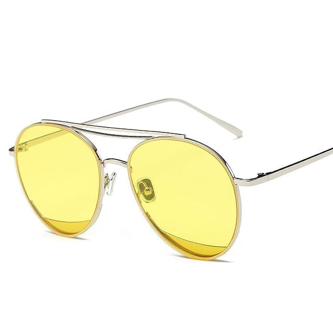 Amazon.com: Gafas de sol para mujer con marco de metal ...