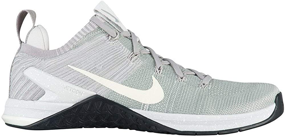 Nike Metcon Dsx Flyknit 2, Chaussures de Fitness Homme Matte Silver Sail Atmosphere Grey