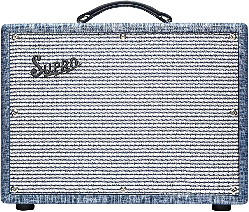 Supro 1622RT Tremo-Verb 25W 1x10 Tube Guitar Combo Amp 25w Tube Guitar