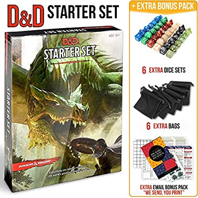 Dungeons and Dragons Starter Set 5th Edition Board Games