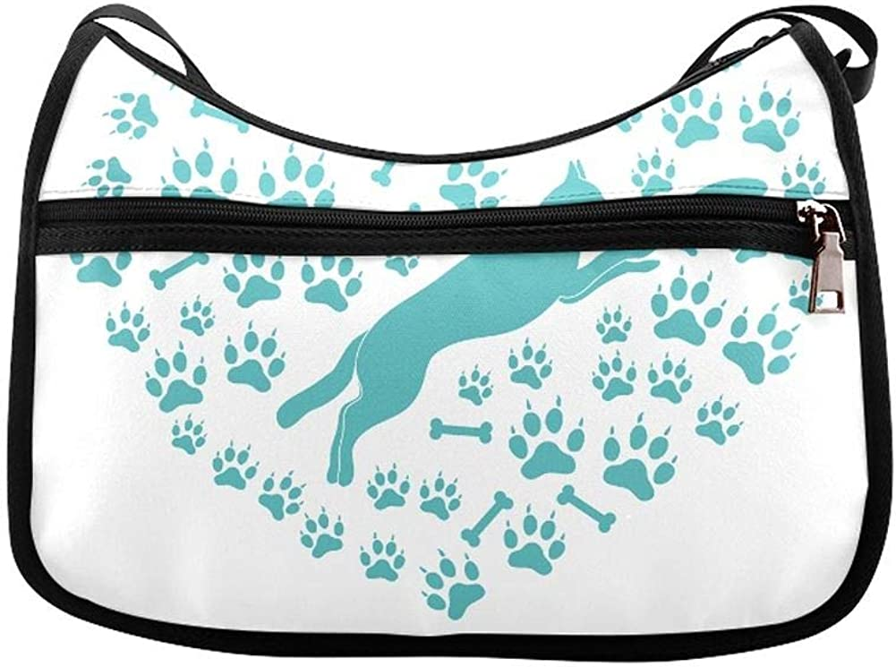 Two Labrador Retrievers And Frisbees Messenger Bag Crossbody Bag Large Durable Shoulder School Or Business Bag Oxford Fabric For Mens Womens