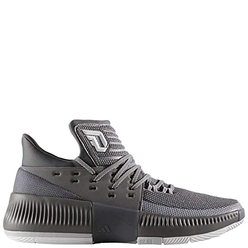 purchase cheap b338b 2e7c9 adidas Dame 3 Mens Mens By3193 Size 7.5 Grey-White