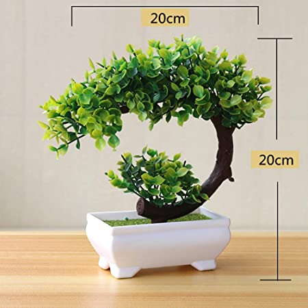 Amyove Bonsái de Plantas Artificiales para la decoración de la ...