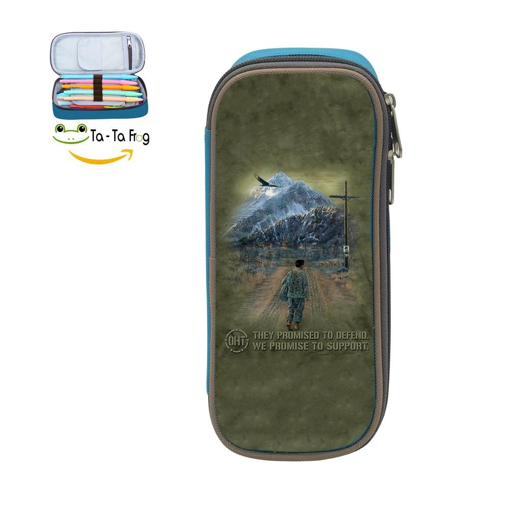 Hero Returns Big Capacity Canvas Cosmetic Bag Portable For Kids Blue