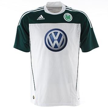 Adidas VFL U40807 - Camiseta de fútbol del equipo Wolfsburg (temporada 10/11)