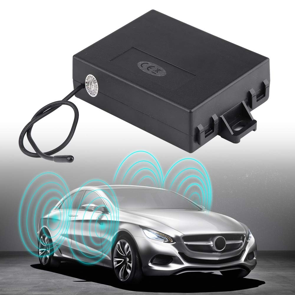 Cocoarm Zentralverriegelung Universal Auto KFZ Komplett Set 2 Funkfernbedienung 4 Stellmotoren 1 T/ürverriegelungsmodul