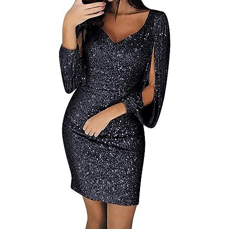 Go First Vestido De Discoteca De Moda para Mujer De ...