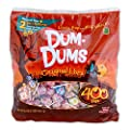 DUM DUMS Lollipops Halloween Pack, 400 Count Bag